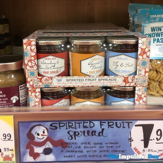 Trader Joe s Spirited Fruit Spreads