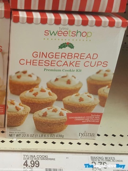 Tylina Sweetshop Gingerbread Cheesecake Cups Premium Cookie Kit