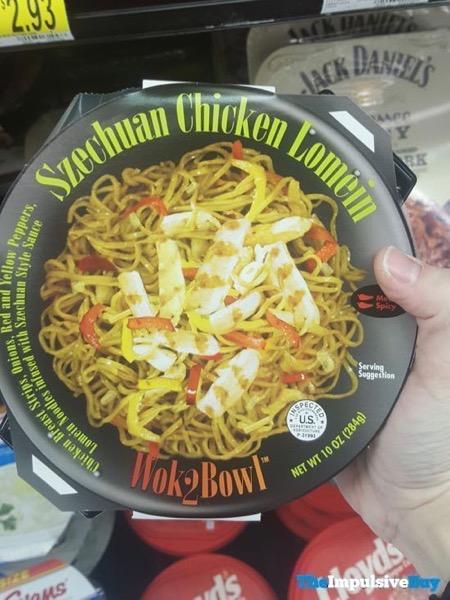 Wok2Bowl Szechuan Chicken Lomein