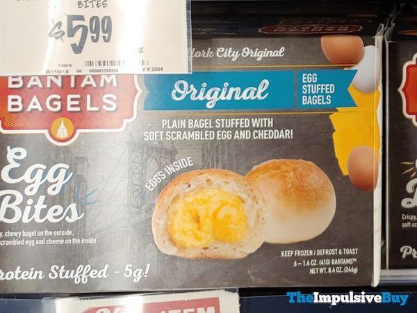 Bantam Bagels Original Egg Bites