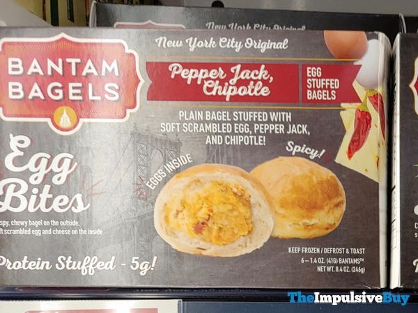 Bantam Bagels Pepper Jack, Chipotle Egg Bites