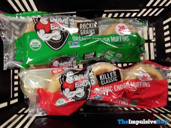 Dave's Killer Bread Rockin' Grains and Killer Classic Organic English Muffins