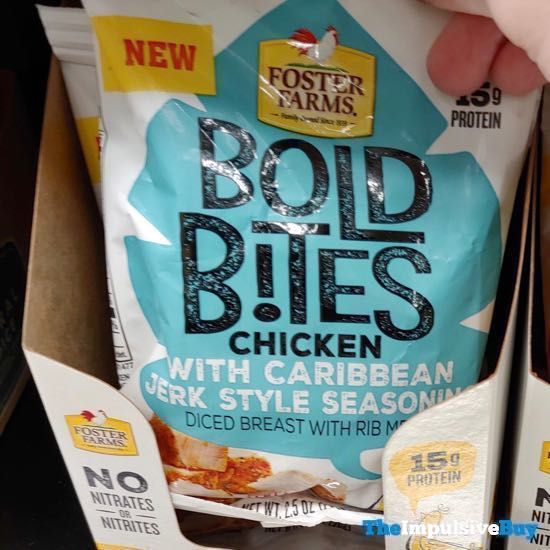 Foster Farms Bold Bites Chicken with Caribbean Jerk Style Seasoning