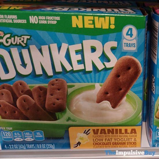 Yoplait Go Gurt Dunkers Vanilla