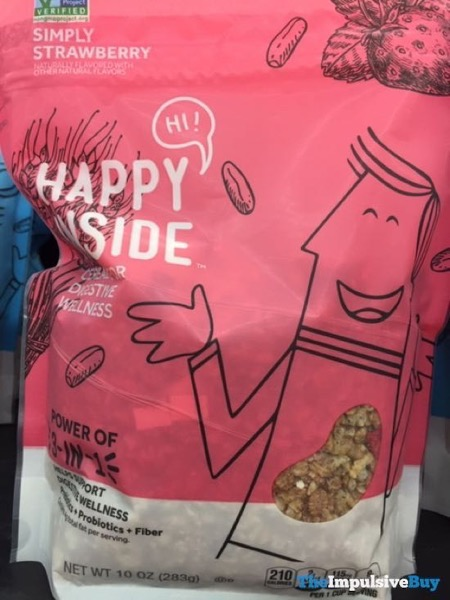 Happy Inside Simply Strawberry Cereal