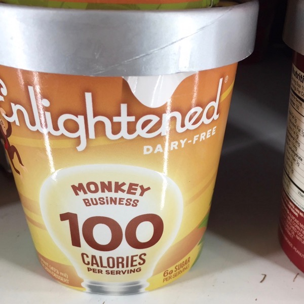Enlightened Dairy Free Monkey Business