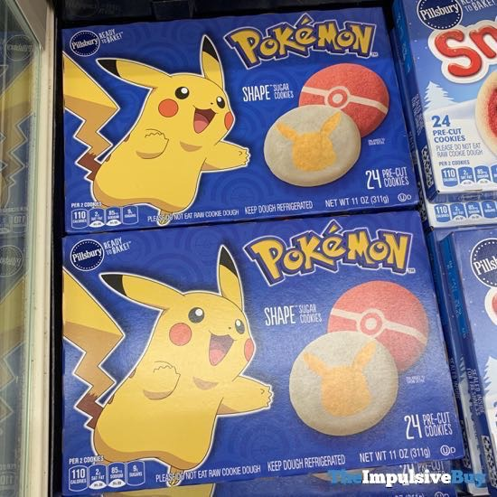 Pillsbury Pokemon Shape Sugar Cookies