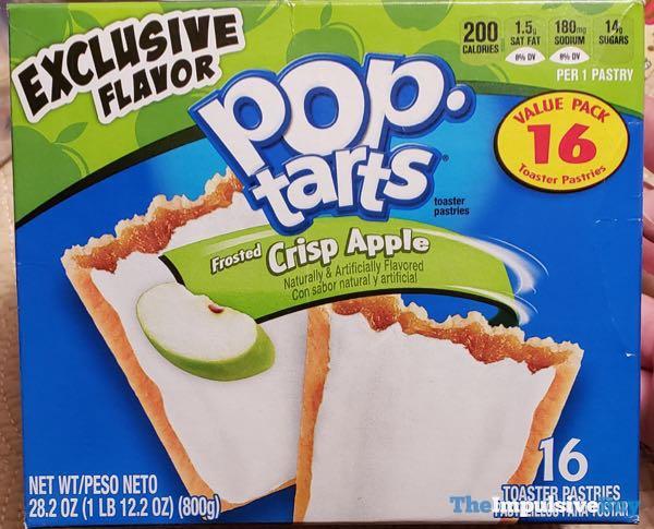Frosted Crisp Apple Pop Tarts