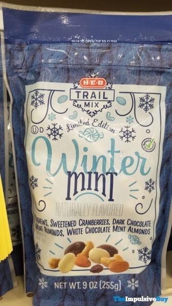 H E B Limited Edition Winter Mint Trail Mix