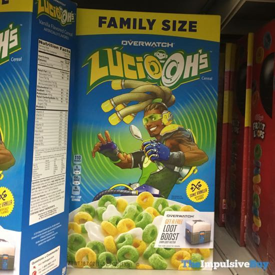 Overwatch Lucio Oh s Cereal