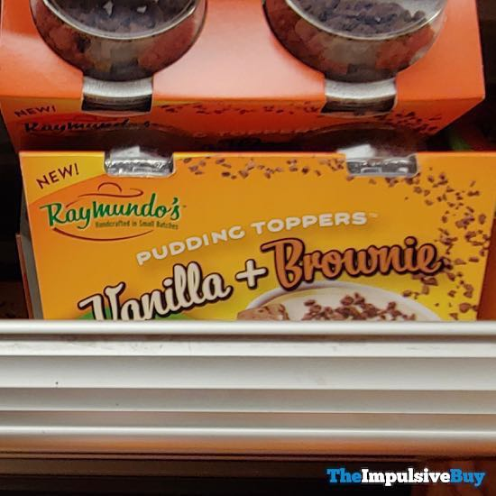 Raymundo s Pudding Toppers Vanilla + Brownie