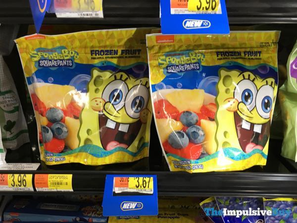 Spongebob Squarepants Frozen Fruit