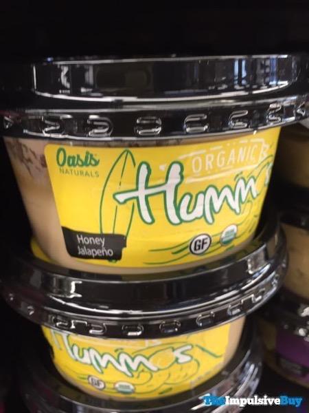 Oasis Naturals Honey Jalapeno Organic Hummus