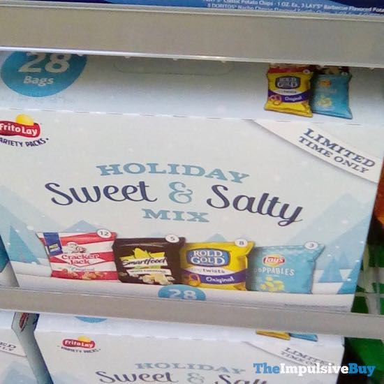 Frito Lay Holiday Sweet  Salty Mix