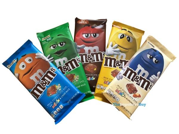 M M s Milk Chocolate Bars 2018