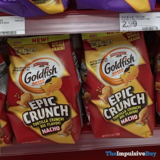 Pepperidge Farm Goldfish Epic Crunch Nacho