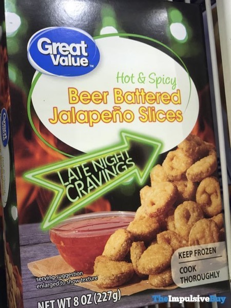 Great Value Hot  Spicy Beer Battered Jalapeno Slices