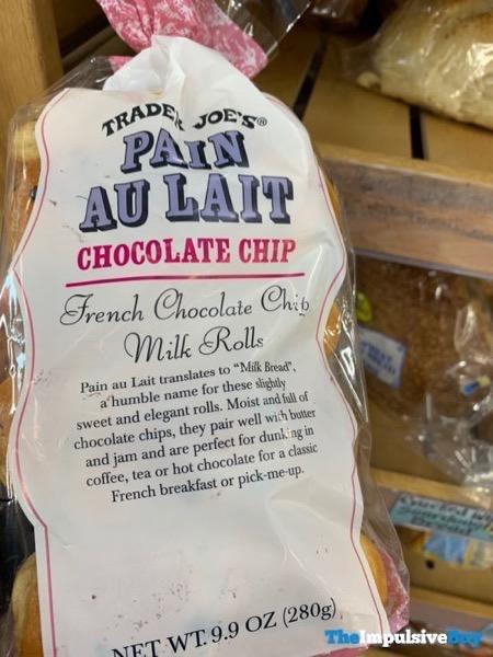 Trader Joe s Pain Au Lait Chocolate Chip