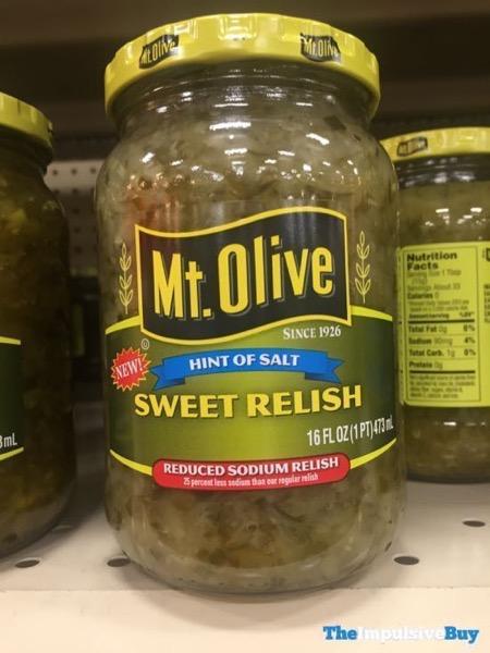 Mt Olive Hint of Salt Sweet Relish