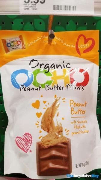 Organic OCHO Peanut Butter Minis Valentines Design