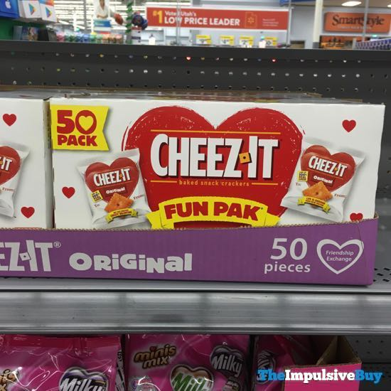 Cheez it Valentines Fun Pak