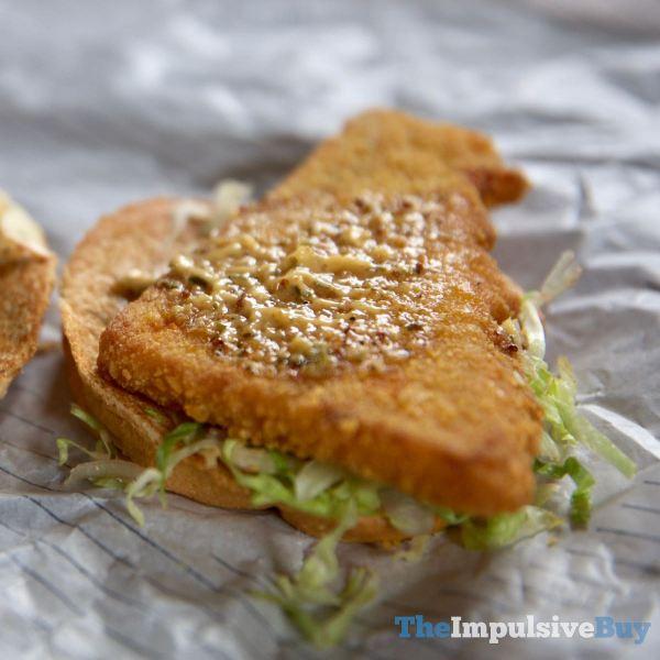 Arby s Cajun Fish Sandwich Fish