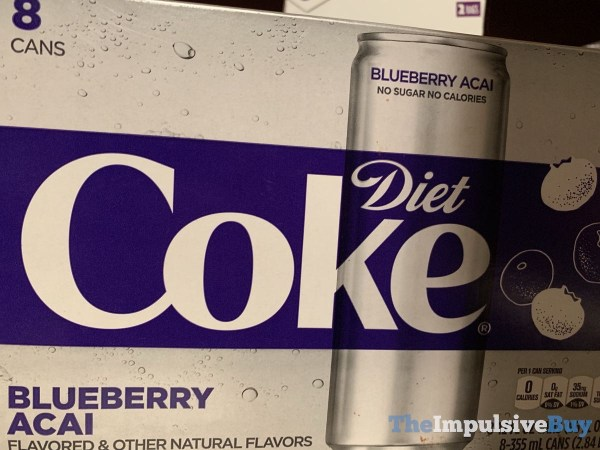 Blueberry Acai Diet Coke