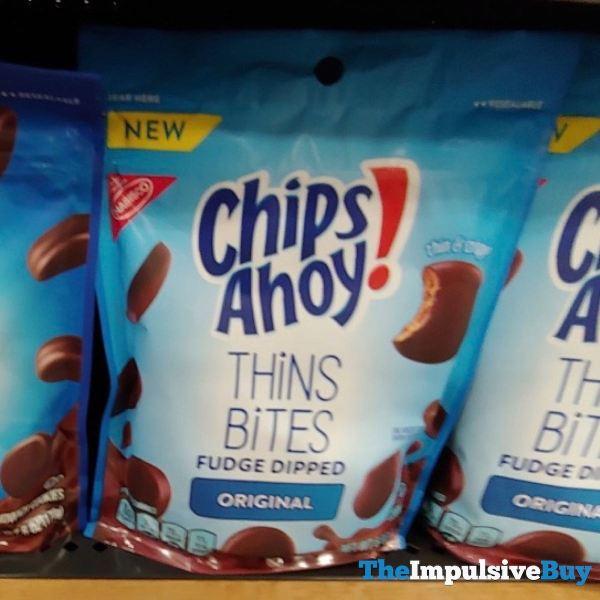 Chips Ahoy Original Thins Bites