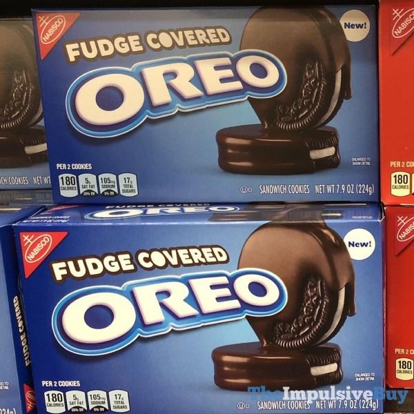 Fudge Covered Oreo Cookies