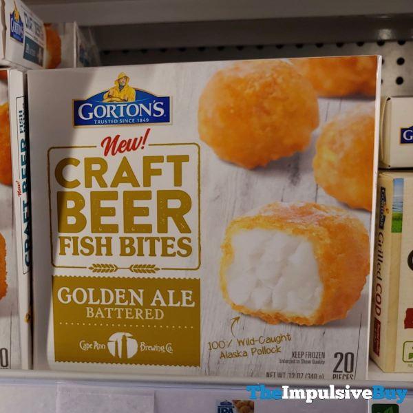 Gorton s Craft Beer Golden Ale Battered Fish Bites