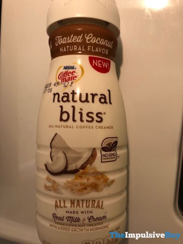Nestle Coffee-mate Natural Bliss Toasted Coconut Creamer