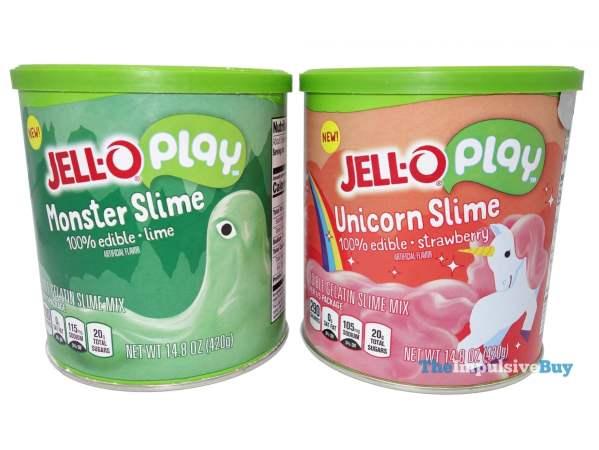 Jello Play Monster Slime and Unicorn Slime
