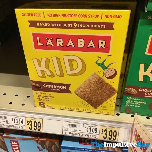 Larabar Kid Cinnamon Swirl