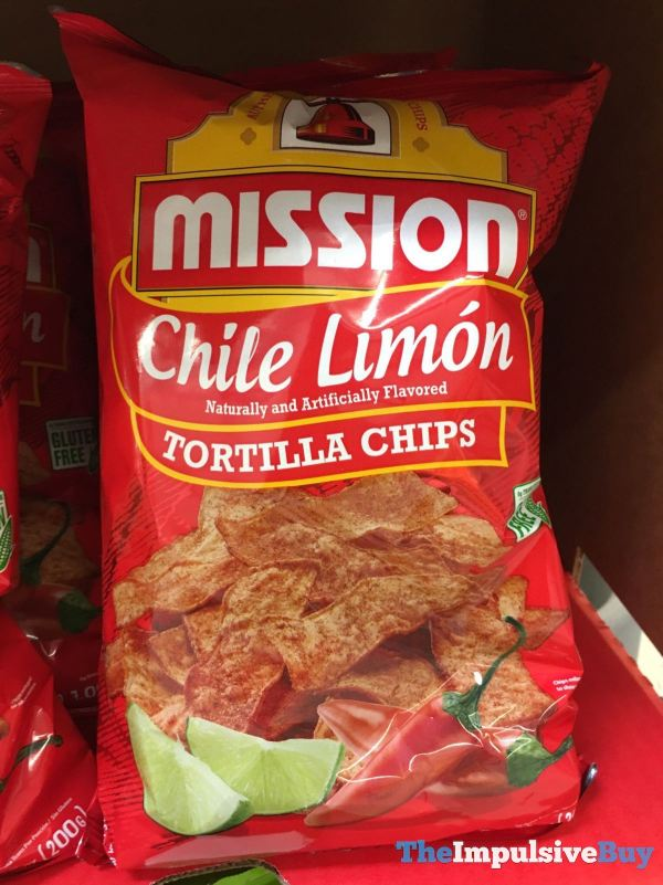 Mission Chile Limon Tortilla Chips