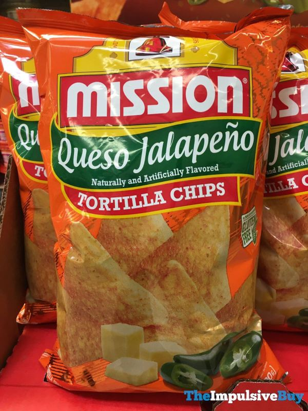 Mission Queso Jalapeno Tortilla Chips