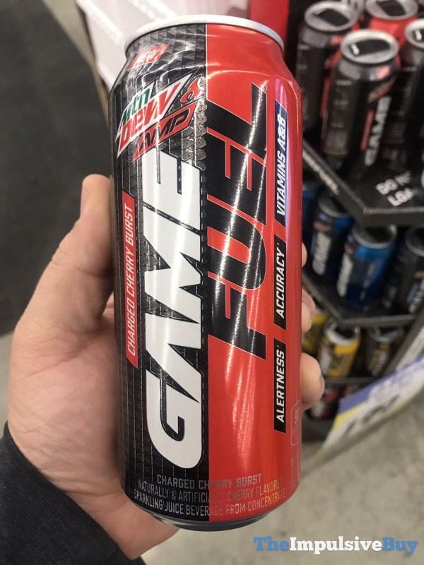 Mtn Dew Amp Game Fuel Cherry Burst
