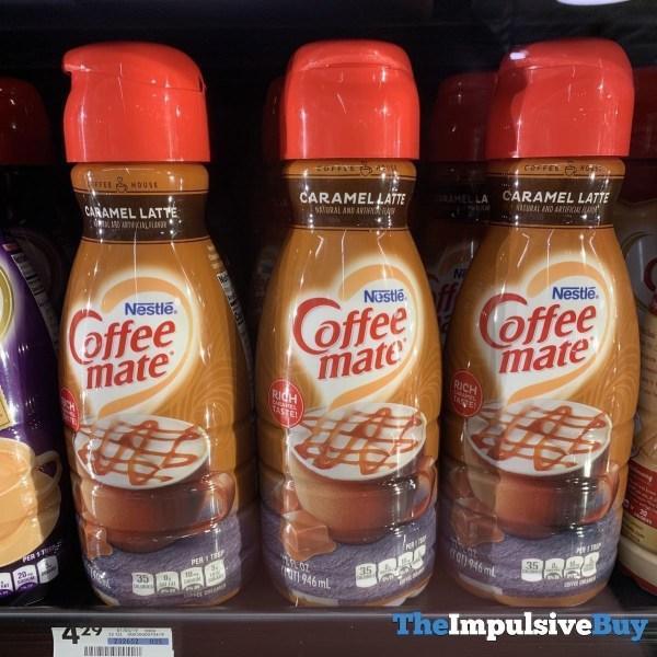 Nestle Coffee mate Caramel Latte Creamer
