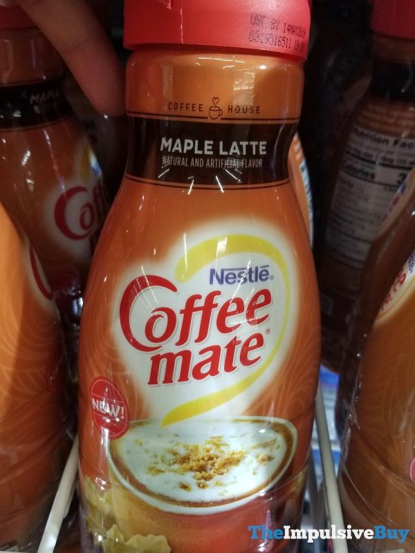 Nestle Coffee mate Maple Latte Creamer