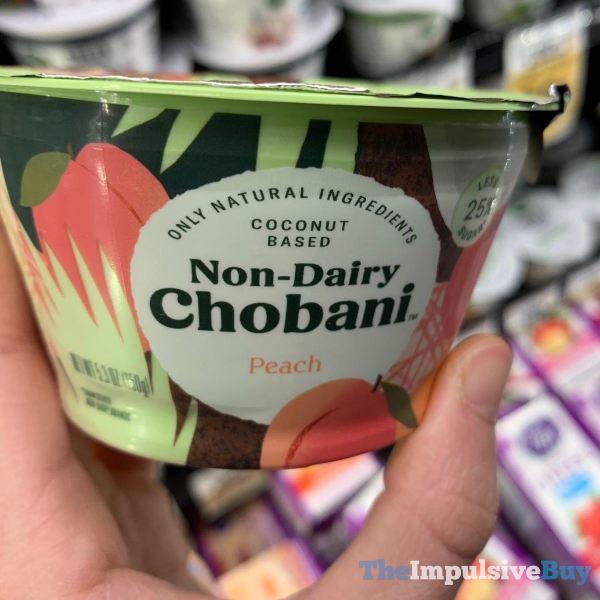 Non Dairy Chobani Peach