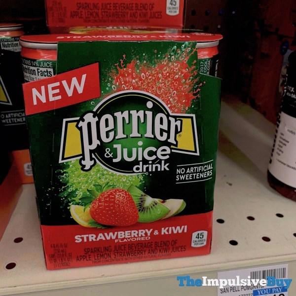 Perrier  Juice Drink Strawberry  Kiwi
