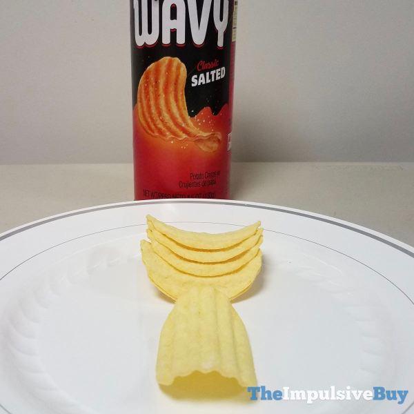 Pringles Wavy Classic Salted Crisps
