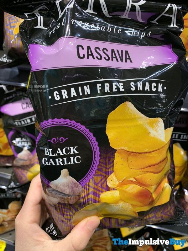 Terra Black Garlic Cassava Chips