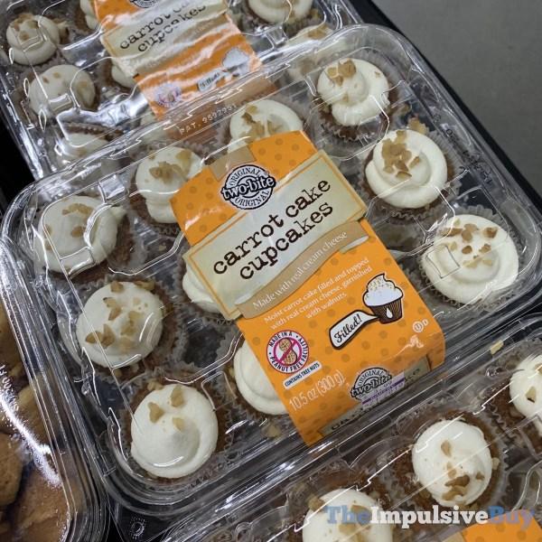 Two Bite Carrot Cake Cupcakes