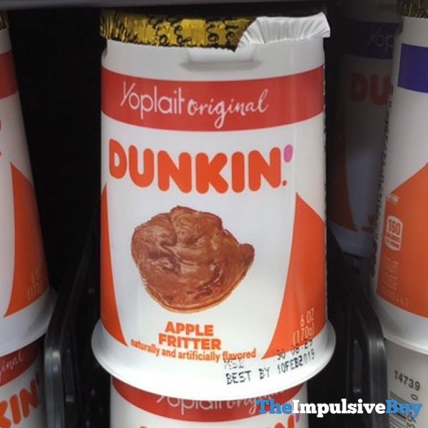 Yoplait Original Dunkin Apple Fritter Yogurt