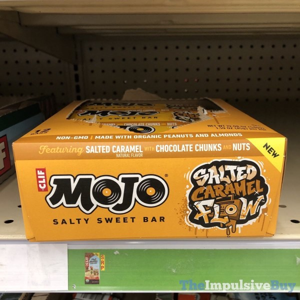 Clif Mojo Salted Caramel Flow Salty Sweet Bar