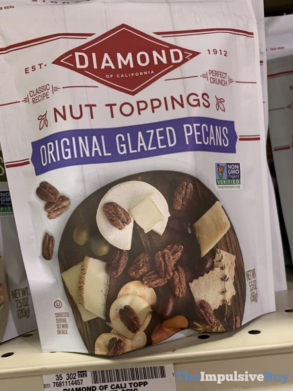 Diamond Nut Toppings Original Glazed Pecans