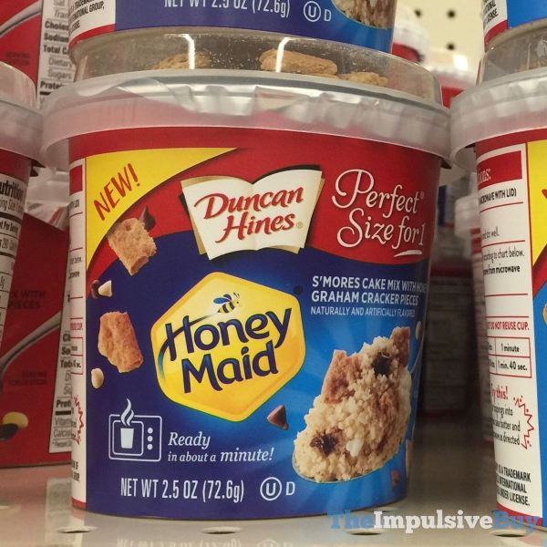Duncan Hines Perfect Size for 1 Honey Maid S mores Cake Mix