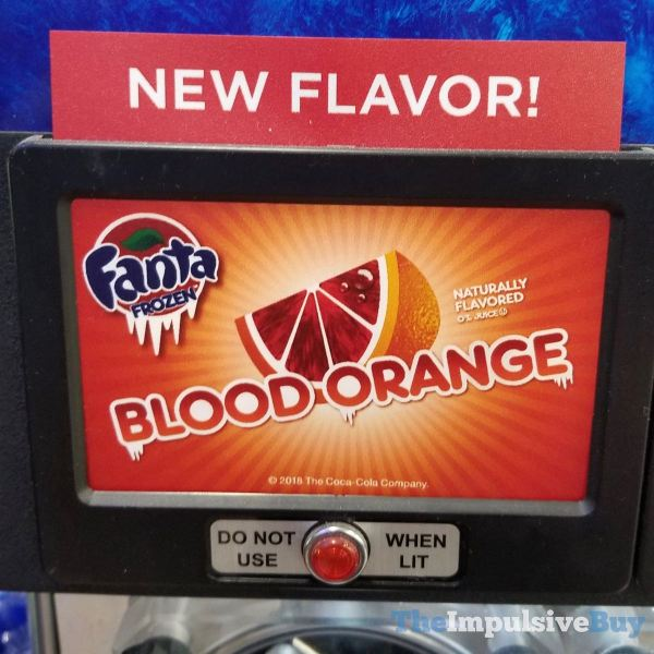 Fanta Frozen Blood Orange