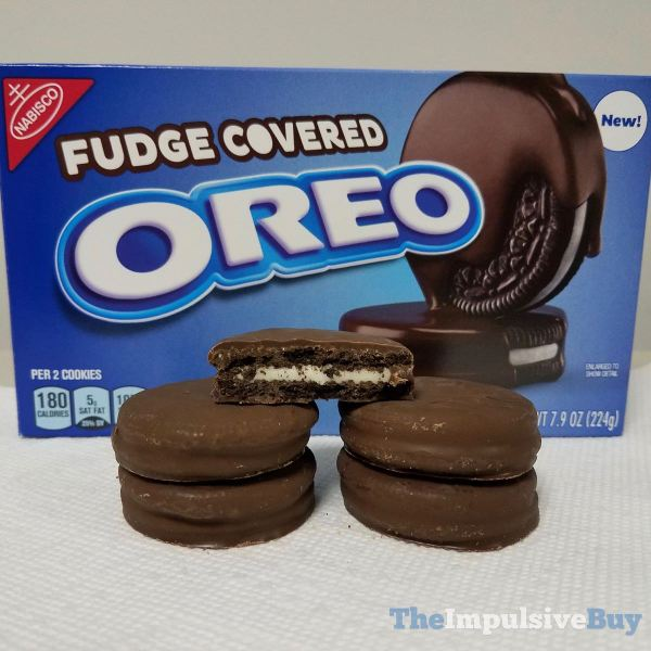 Fudge Covered Oreo Cookies
