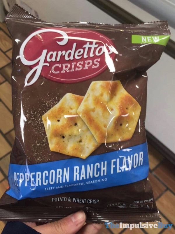 Gardetto s Crisps Peppercorn Ranch Flavor